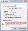 Start bootloader  » Click to zoom ->
